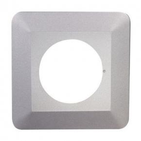 Osłona na ścianę pod kontakty pojedyncza srebrna OSX-910 ZAMEL