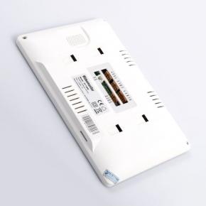 Wideodomofony-zamel - vp-729w wideomonitor z dotykowym kolorowym wyświetlaczem 7 cali biały zamel