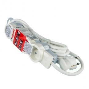 Przedłużacz elektryczny na cztery gniazda biały 4X2P+Z 3500W 230V LEGRAND