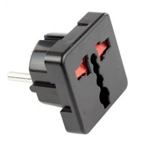Adapter uniwersalny 2605 czarny