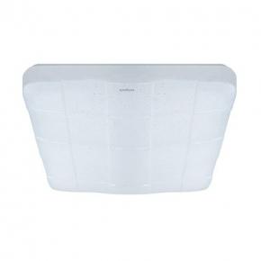Kwadratowa plafoniera LED biała z efektem gwieździstego nieba 36W 4000K SPARTA LED D 03639 IDEUS