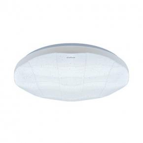 Nowoczesna plafoniera LED w kolorze białym 24W 4000K IP44 SPARTA LED C 03637 IDEUS