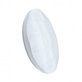 Plafony - nowoczesna plafoniera led w kolorze białym 24w 4000k ip44 sparta led c 03637 ideus