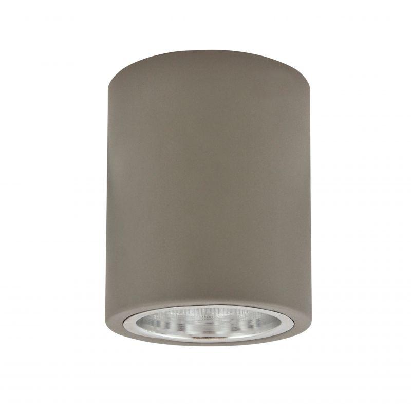 Oprawy-sufitowe - oprawa natynkowa metalowa okrągła10 md-3011 szary jupiter polux firmy POLUX