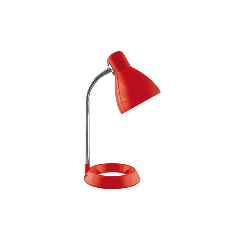 Lampka biurkowa czerwona KATI E27 02858 IDEUS