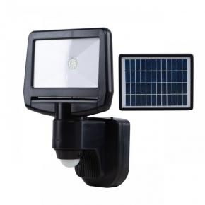 Naświetlacz LED z panelem solarnym akum. 10W IP44 + czujnik ruchu 900lm 6000k zimny VO1874 volteno