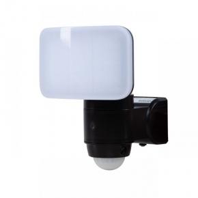Naświetlacz LED z czujnikiem ruchu na baterie 3xAA 5,4W IP44 140° 6500k zimny czarny VO1873 volteno