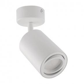 Regulowany reflektor ścienno-sufitowy biały 35W GU10 03538 BEMOL SPT IDEUS