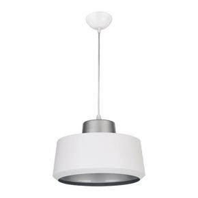 Lampa sufitowa paula biała/srebrna 03269 IDEUS