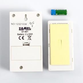 Bezprzewodowy dzwonek do drzwi ZAMEL CLASSIC ST-901 zasięg 100 m