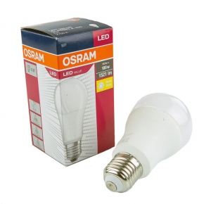 Żarówka LED E27 z ciepłym białym światłem matowa 14W-100W 2700K 1521lm OSRAM