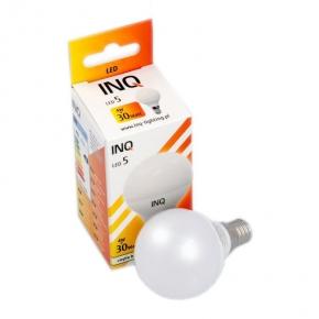 Żarówka LED kulka ciepła P45 E14 4W-30W 323lm 160st 3000K ciepły LP020WW INQ