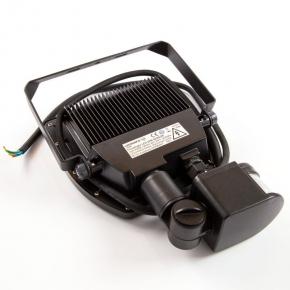 FLOODLIGHT LED Naświetlacz LED 20W z czujnikiem ruchu 1900lm 4000K neutralny 100° IP65 czarny LEDVANCE OSRAM