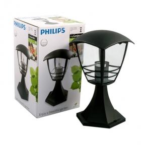 Lampa ogrodowa zewnętrzna -mała latarnia ogrodowa czarna 15382/30/16 PHILIPS