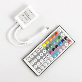 Sterownik  do taśm LED-owych IR LED EE-11-313  RGB, pilot 44 przyciski EcoEnergy