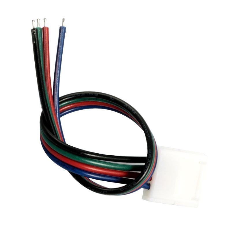 Taśma przewód 15cm -złączka taśm LED RGB EE-11-102 10mm jednostronna EcoEnergy