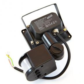 Naswietlacze-z-czujnikiem-ruchu - naświetlacz led 10w z czujnikiem ruchu c62-s-pled-010bl-6k kafler  6000k