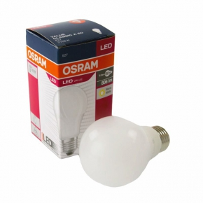 Żarówka LED bańka mleczna 2700K E27 9.5W-60W 806 lm VALUE CLASSIC A60 OSRAM