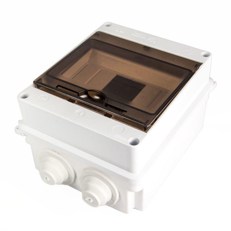 Skrzynki-elektryczne - skrzynka rozdzielcza 6-modułowa hermetyczna s-6/40d plastrol firmy PLAST-ROL