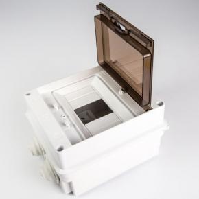 Skrzynki-elektryczne - skrzynka rozdzielcza 6-modułowa hermetyczna s-6/40d plastrol