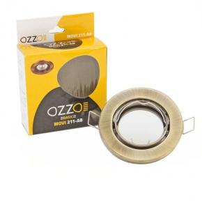 Oprawa sufitowa aluminiowa ruchoma MOVI-211-AB OZZO