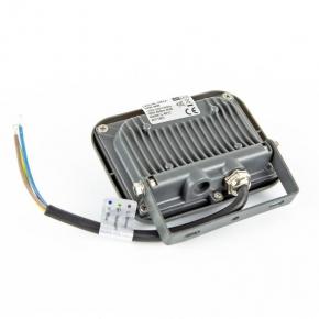 Naswietlacze-led-10w - naświetlacz led 10w grafitowy led-nl-heli-10w-nw  850lm 120° ip65 4000k naturalny anlux