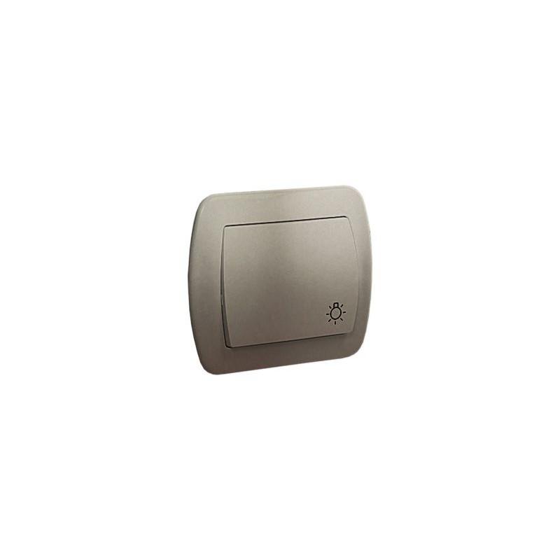 Wylaczniki-typu-swiatlo-zwierne - przycisk zwierny światło satynowy as1/29 simon akord kontakt- simon firmy Kontakt-Simon