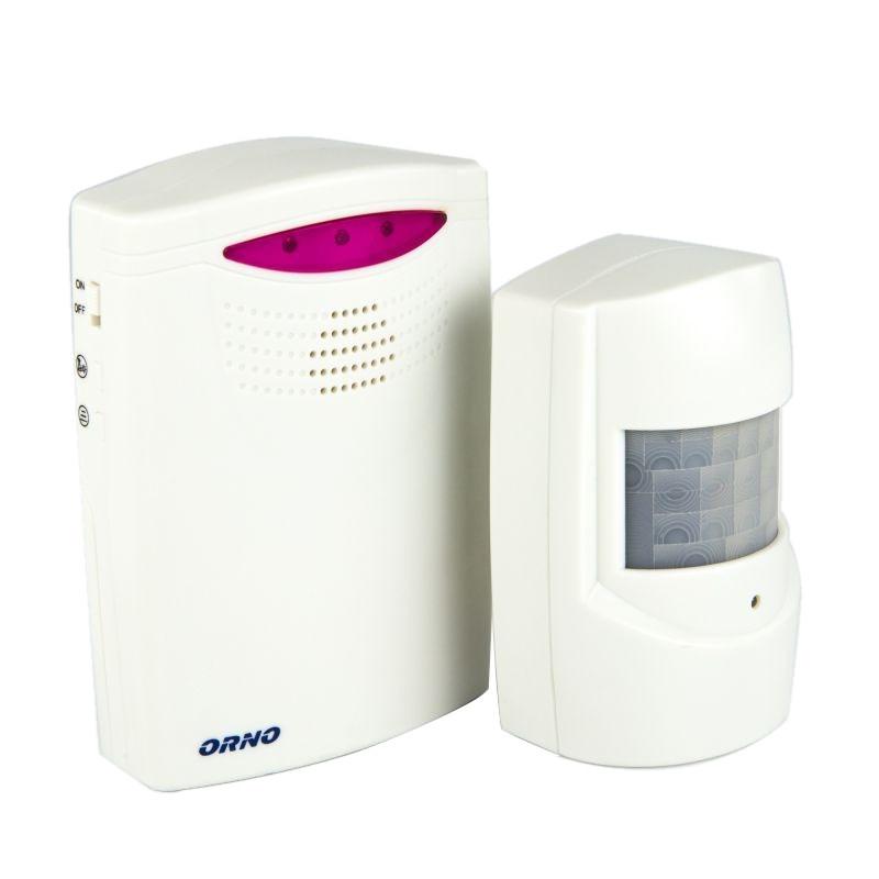 Sygnalizatory-wejsc-z-czujnikiem-ruchu - sygnalizator wejść z bezprzewodowym czujnikiem ruchu or-ma-705 orno firmy ORNO