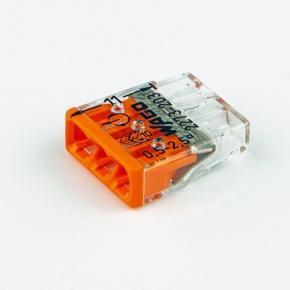 Szybkozlaczki - złączka instalacyjna do puszek 3x0,5-2,5mm2 2273-203 wago