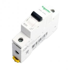 Wylaczniki-nadpradowe-bezpieczniki - wyłącznik nadprądowy 1p k60n b 20a a9k01120 schneider electric