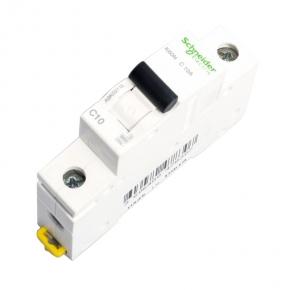 Wylaczniki-nadpradowe-bezpieczniki - wyłącznik nadprądowy bezpiecznik jednobiegunowy c 10a a9k02110 schneider electric