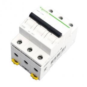 Wylaczniki-nadpradowe-bezpieczniki - bezpiecznik wyłącznik nadprądowy trójbiegunowy c 20a a9k02320 schneider electric