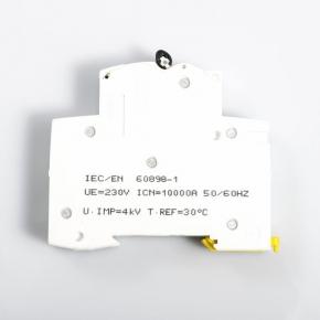 Wylaczniki-nadpradowe-bezpieczniki - wyłącznik nadprądowy a9k01110  1p b 10a schneider