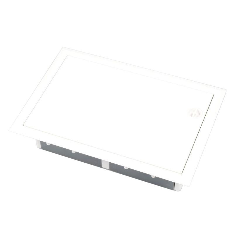 Skrzynki-elektryczne - skrzynka elektryczna podtynkowa z metalowymi drzwiami ip40 erp18-1 eti firmy ETI