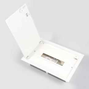 Skrzynki-elektryczne - skrzynka elektryczna podtynkowa z metalowymi drzwiami ip40 erp18-1 eti