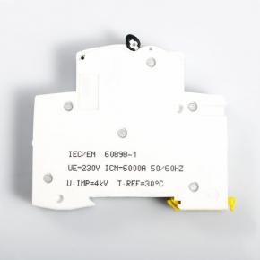 Wylaczniki-nadpradowe-bezpieczniki - wyłącznik nadprądowy instalacyjny 1p b 16a a9k01116  schneider electric