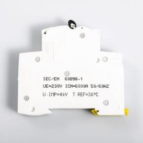 Wylaczniki-nadpradowe-bezpieczniki - wyłącznik nadprądowy a9k01106 1p b 6a schneider
