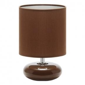 Mała brązowa lampka na...