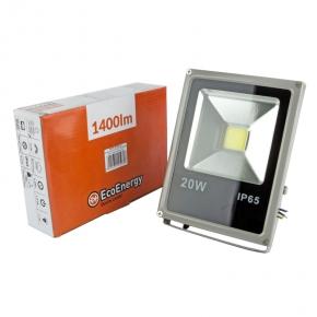 Naświetlacz LED 20W szary...