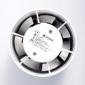Wentylatory-kanalowe - wentylator osiowy kanałowy euro 1 dospel 100 standard 007-0051