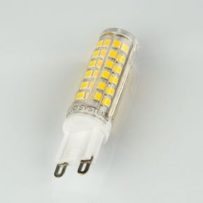 Gwint-trzonek-g9 - żarówka led d85-ls-g9-6w-nw g-9 6w-45w 500lm neutralna, energy a+ led systems