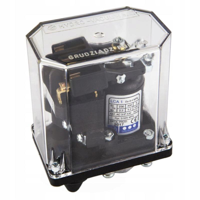 Wlaczniki-cisnieniowe - wyłącznik ciśnieniowy lca1 (1 - 4 bar) hydro-vacuum firmy HYDRO-VACUUM