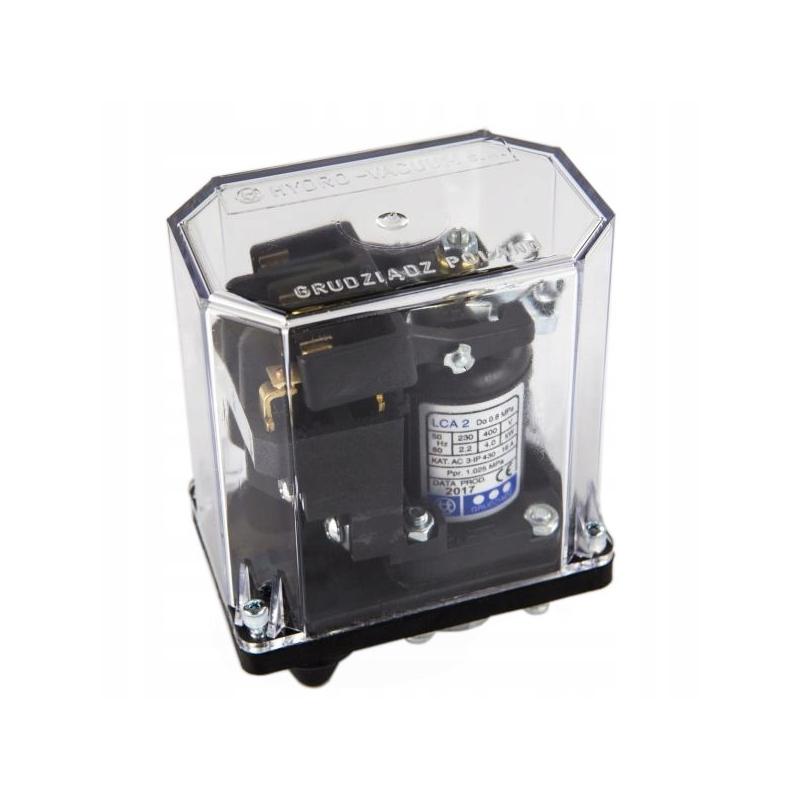 Wlaczniki-cisnieniowe - wyłącznik ciśnieniowy 2-8 bar do pompy lca-2 hydro-vacuum firmy HYDRO-VACUUM