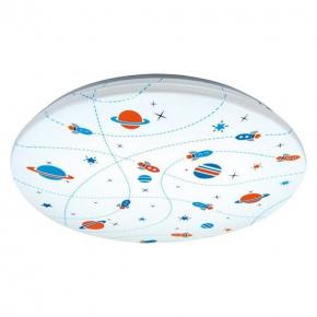 Oswietlenie-do-pokoju-dzieciecego - plafon sufitowy smd led kidi led cosmos 28w 4000k 03648 ideus