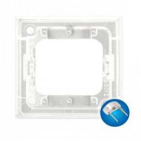 Osprzet-produkty-uzupelniajace - moduł podświetlający led do włączników potrójnych niebieski zp-4un aria ospel