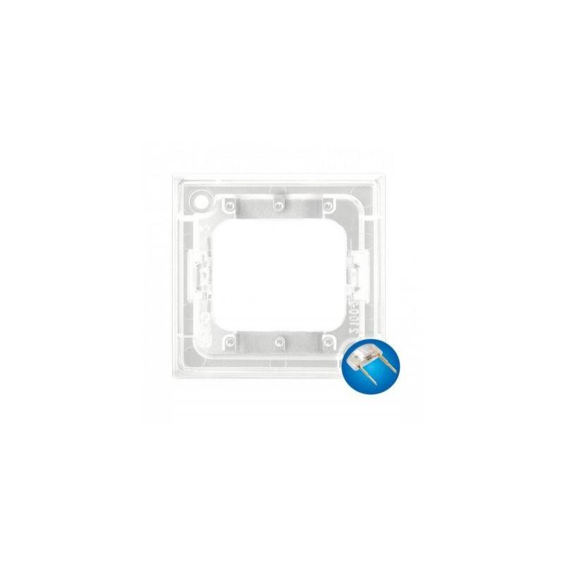 Osprzet-produkty-uzupelniajace - moduł podświetlający led do włączników potrójnych niebieski zp-4un aria ospel firmy OSPEL