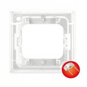 Osprzet-produkty-uzupelniajace - moduł podświetlenia led do łączników potrójnych czerwony zp-4uc aria ospel