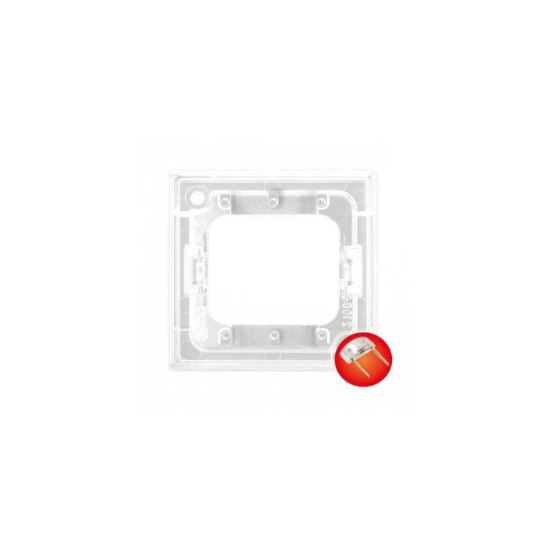Osprzet-produkty-uzupelniajace - moduł podświetlenia led do łączników potrójnych czerwony zp-4uc aria ospel firmy OSPEL
