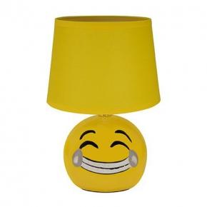 Żółta lampka na biurko z...