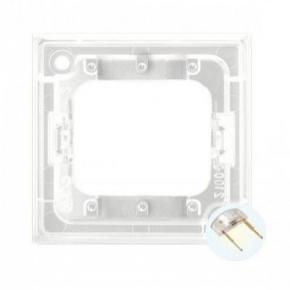 Osprzet-produkty-uzupelniajace - moduł podświetlający led do włączników potrójnych biały zp-4ub aria ospel